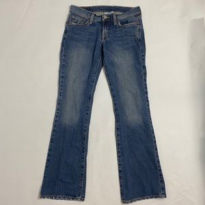 Lucky brand dungarees. Size 2/26